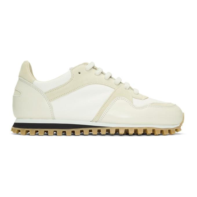 Spalwart White Marathon Trail Low NSL Sneakers