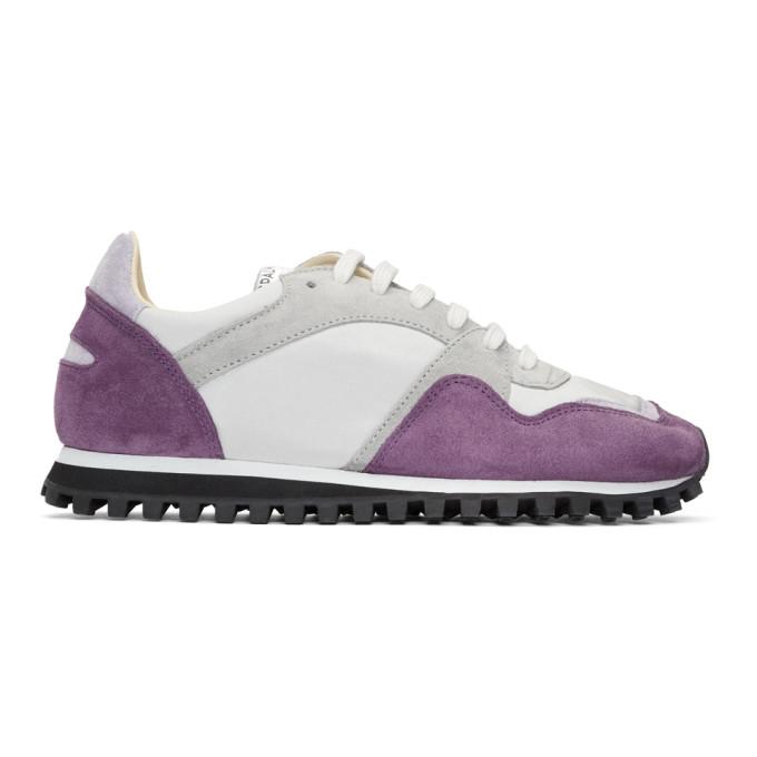 Spalwart Purple Suede Marathon Trail Low Sneakers