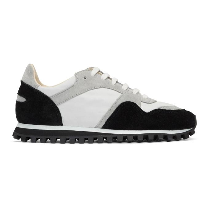 Spalwart Black Suede Marathon Trail Low GB Sneakers