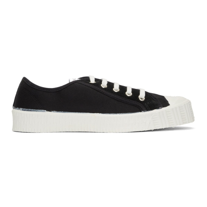 Spalwart Black Special Low Twill WS Sneakers