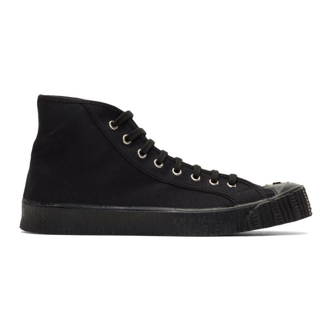 Spalwart Black Special Mid BS Sneakers