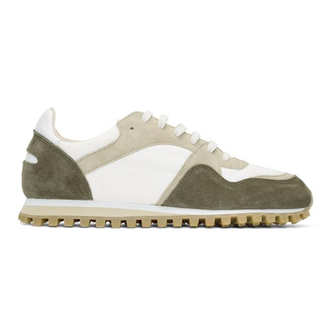 Spalwart Khaki Suede Marathon Trail Low WBHS Sneakers