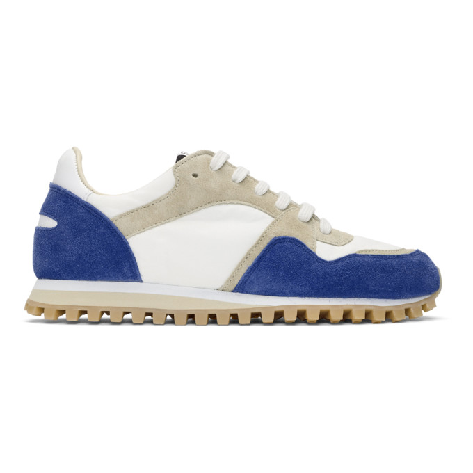Spalwart Blue Suede Marathon Trail Low WBHS Sneakers