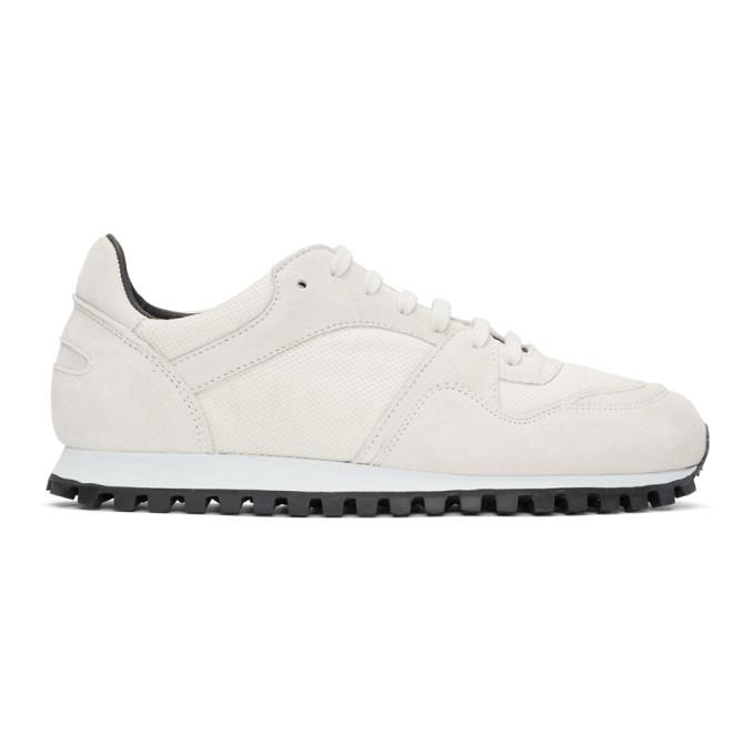 Spalwart White Marathon Trail Low Mesh Sneakers