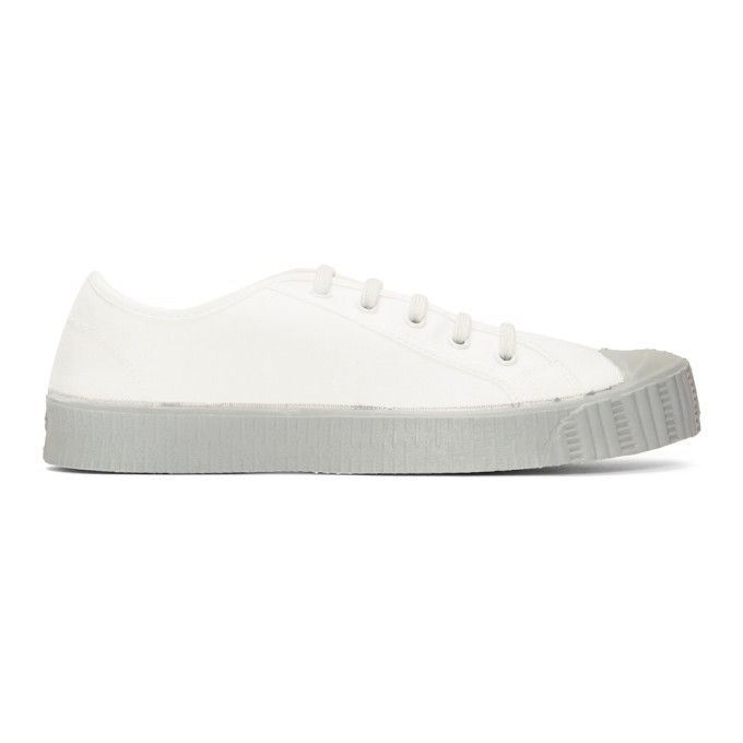 Spalwart White & Grey Special Low GS Sneakers