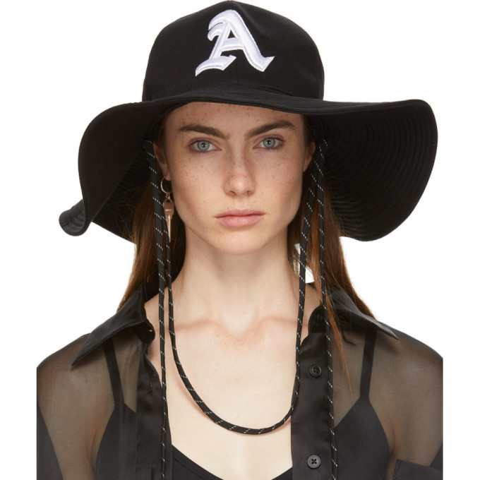 Image of Ambush Black Nobo Beach Hat