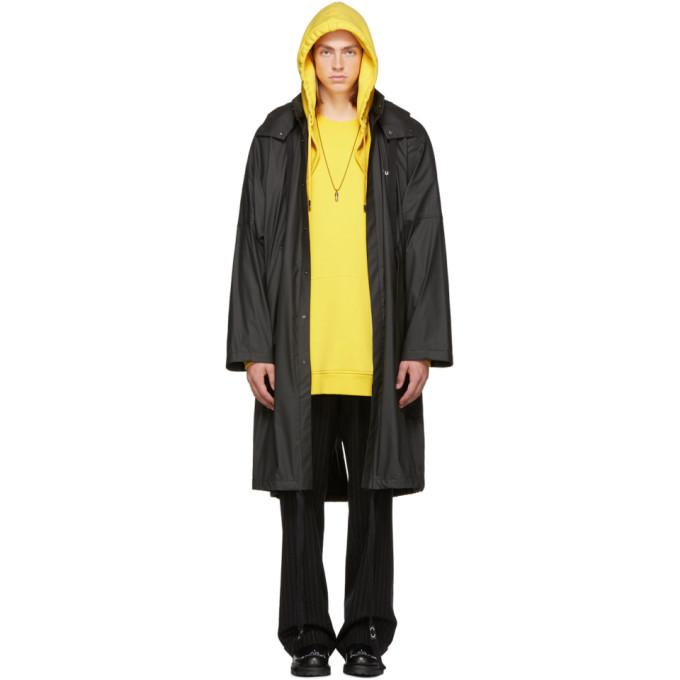 AMBUSH Ambush Zipped Hooded Coat - Black
