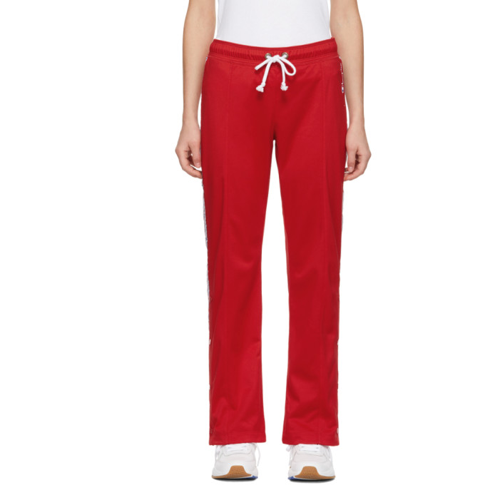 Image of Champion Reverse Weave Red Straight Hem Lounge Pants