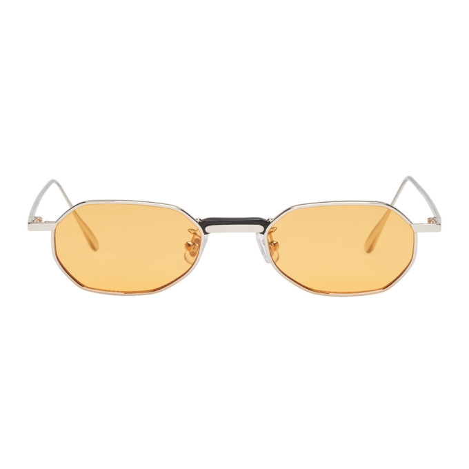 GENTLE MONSTER Gentle Monster Silver Voyager M Sunglasses in M01 Silver