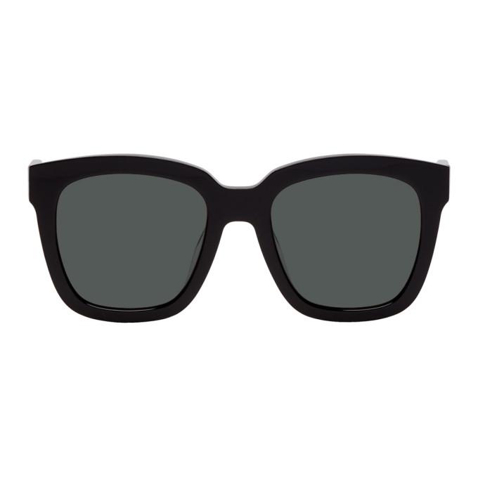 GENTLE MONSTER Gentle Monster Black Dreamer Hoff Sunglasses in 01 Black