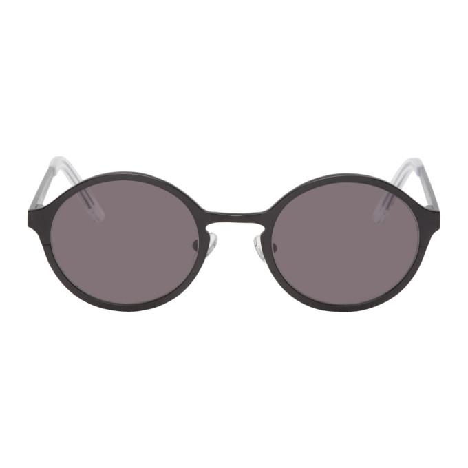 Han Kjobenhavn Black Titanium Binocular Sunglasses