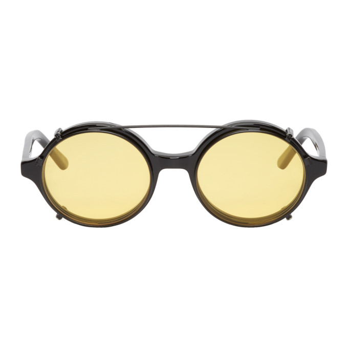 Image of Han Kjobenhavn Black Doc Clip-On Sunglasses