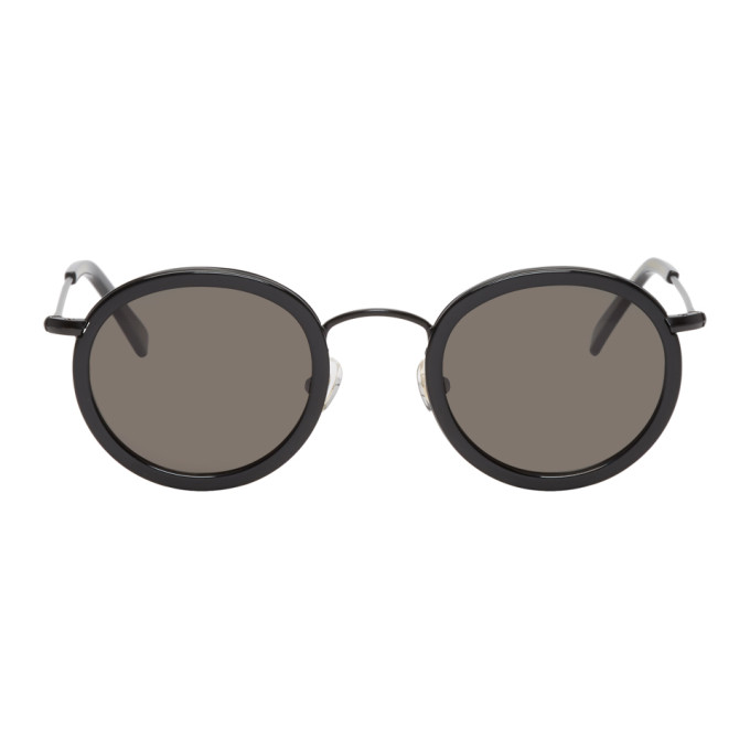 Image of Han Kjobenhavn Black Drum Sunglasses