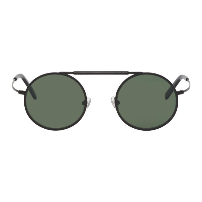 Han Kjobenhavn Black Matte Uncle Sunglasses