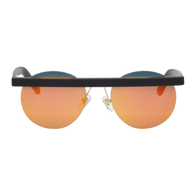 Image of Han Kjobenhavn Black Matte Stable Sunglasses
