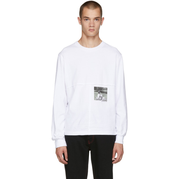 ECKHAUS LATTA Eckhaus Latta Ssense Exclusive White Lapped T-Shirt