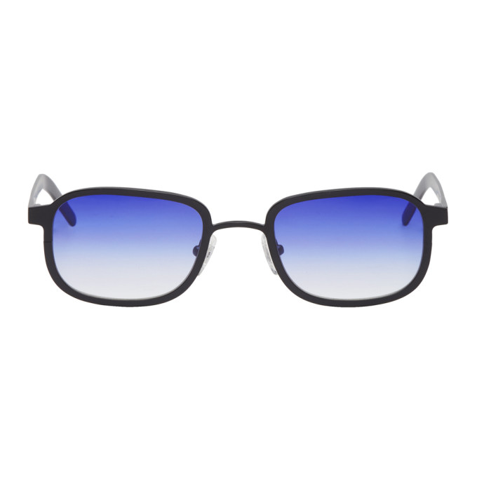 Image of BLYSZAK Black & Purple Collection III Sunglasses