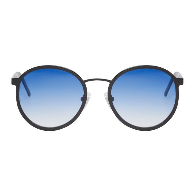 Image of BLYSZAK Black & Blue Collection IV Sunglasses