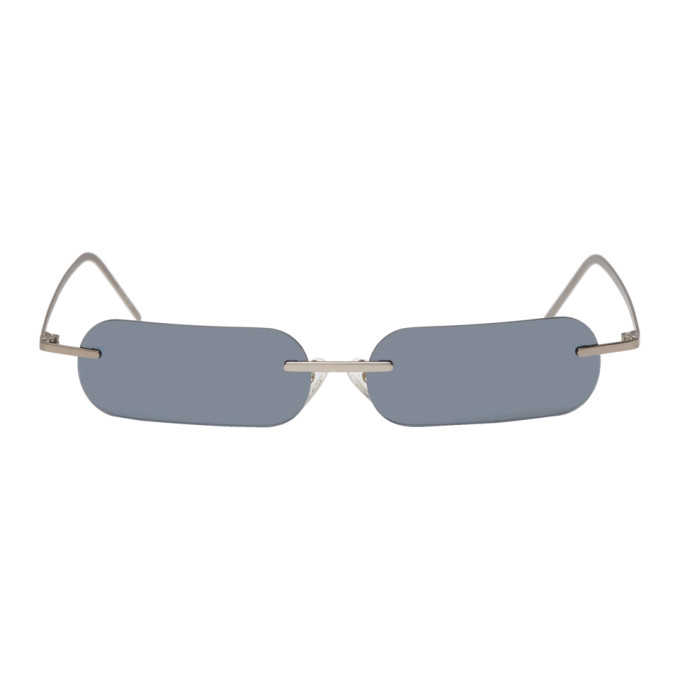 BLYSZAK Blyszak Silver Francois Russo Edition Sunglasses in Silver Lens