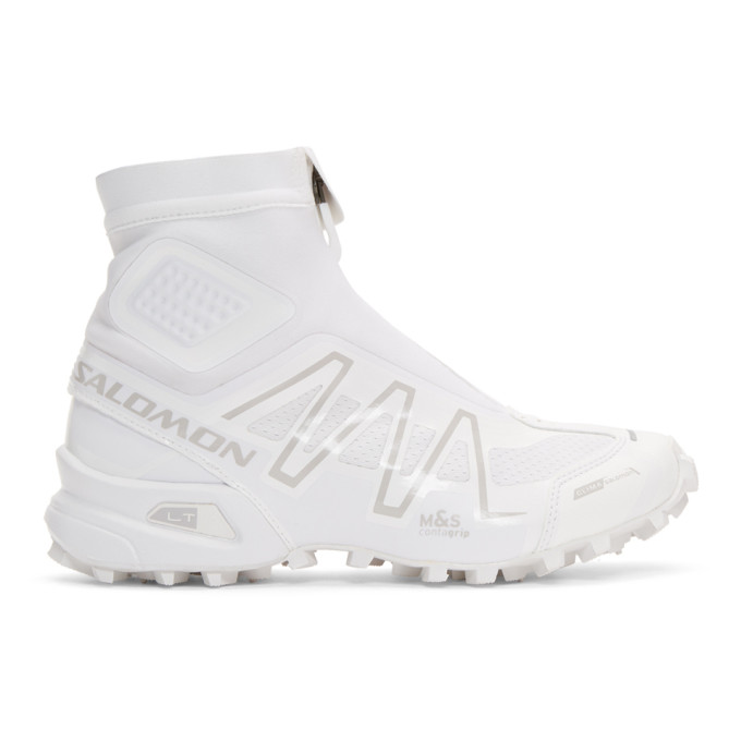 Salomon White Snowcross Advanced LTD Sneakers