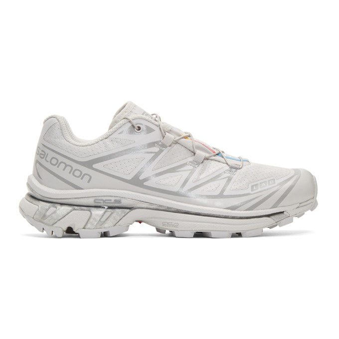 Salomon Grey S/Lab Xt-6 Softground Advanced LTD Sneakers