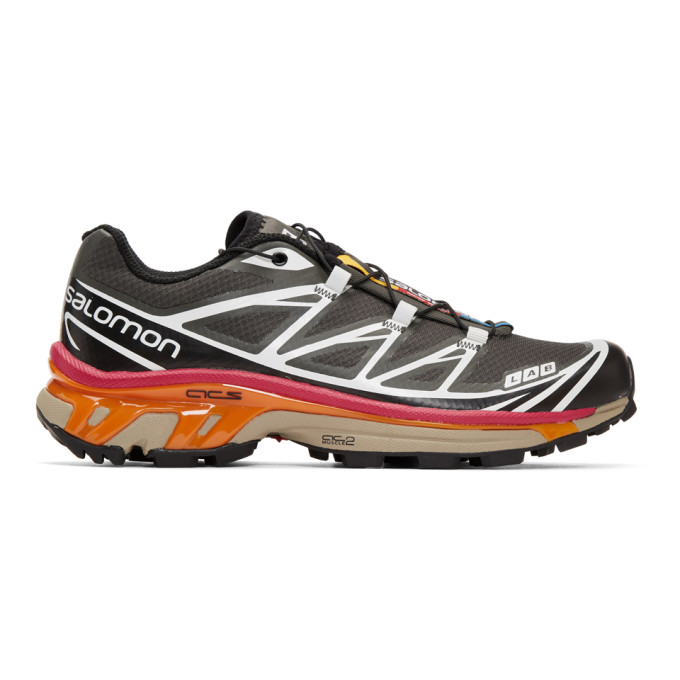 Salomon Black & Grey S/Lab XT-6 Softground ADV Sneakers