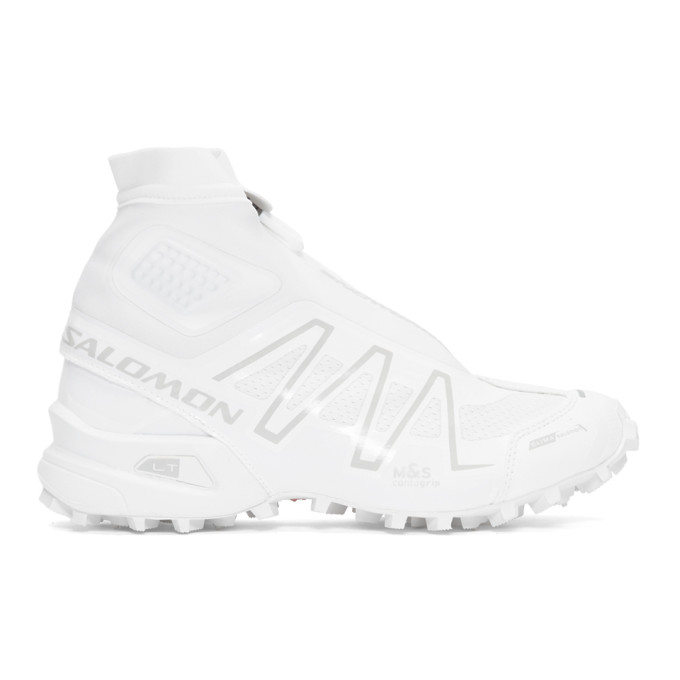 Salomon White Snowcross ADV LTD Sneakers