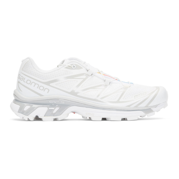 Salomon White S/Lab XT-6 Softground ADV Sneakers