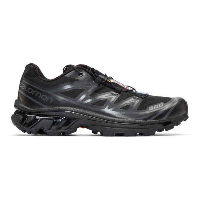 Salomon Black S/Lab XT-6 Softground ADV LTD Sneakers