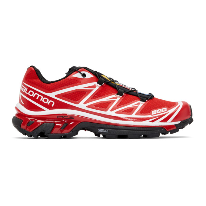 Salomon Red S/Lab XT-6 Softground ADV Sneakers
