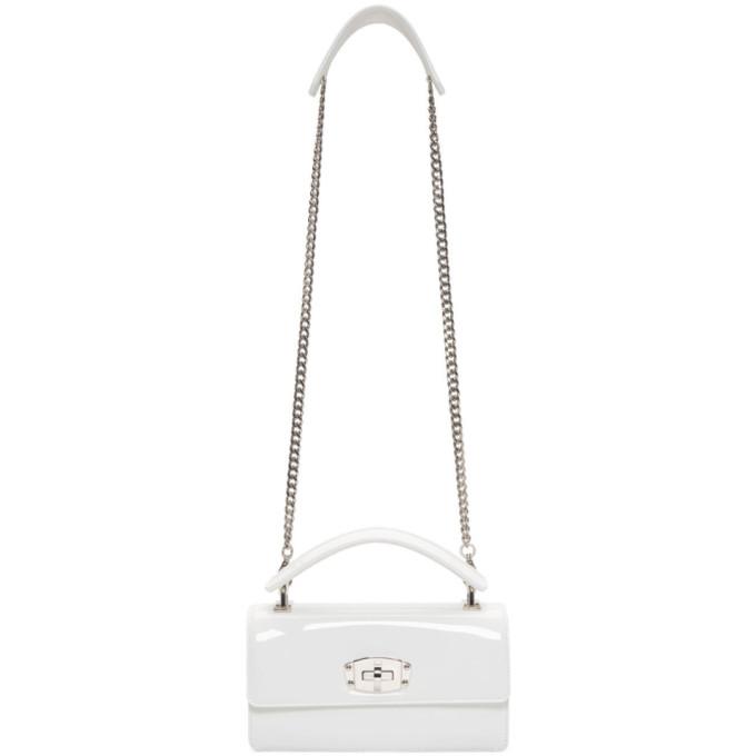Miu Miu White Cleo Bag