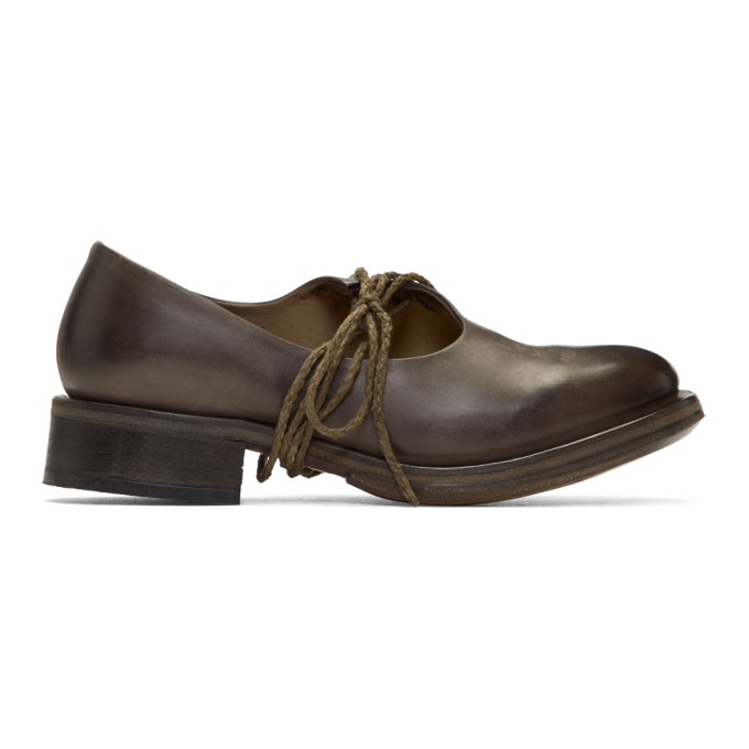 Cherevichkiotvichki Black Half Shoe Oxfords