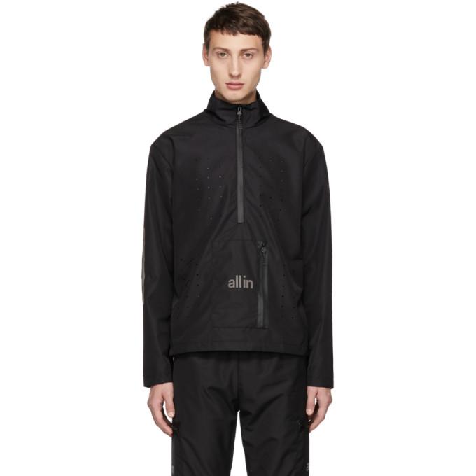 All In Black Tennis Jacket