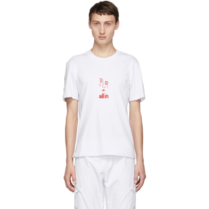 Image of all in White Jacknave T-Shirt