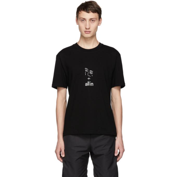 Image of all in Black Jacknave T-Shirt