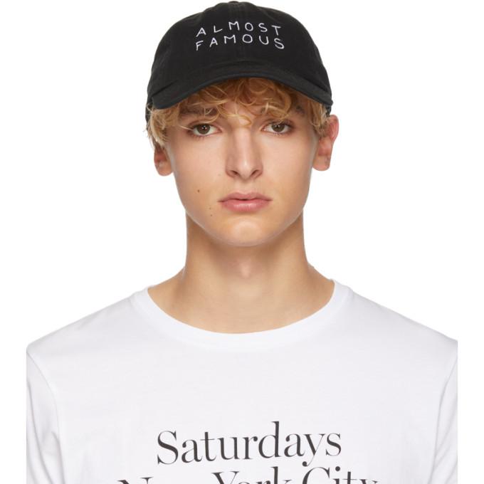 Image of Nasaseasons Black 'Almost Famous' Cap