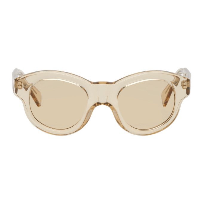 Image of Kuboraum Beige L2 Sunglasses