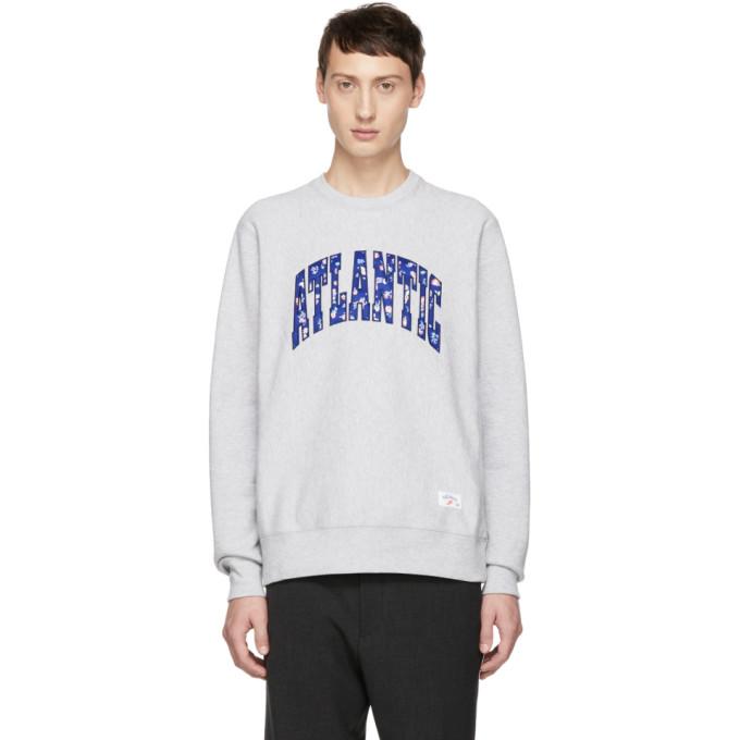 NOAH Noah Nyc Grey Atlantic Sweatshirt in Lthtrgrey