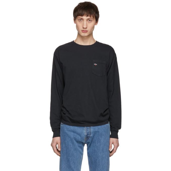 NOAH Noah Nyc Black Pocket T-Shirt