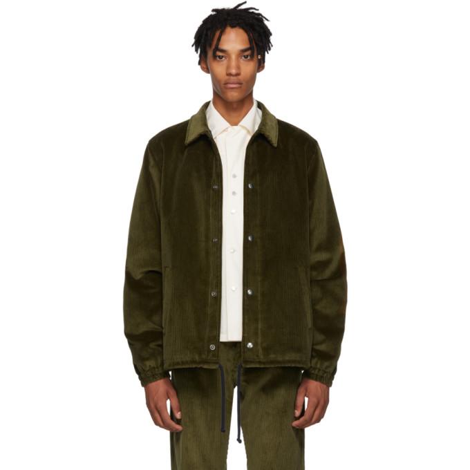 Image of Missoni Green Corduroy Jacket