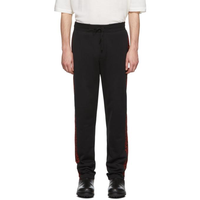 Image of Missoni Black All Over Logo Lounge Pants