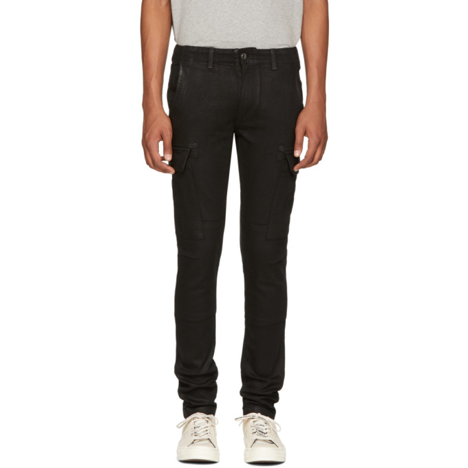 Image of Amiri Black Cargo Jeans