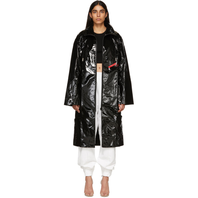 A-Cold-Wall* A-COLD-WALL* BLACK NATIONAL GALLERY MAC COAT