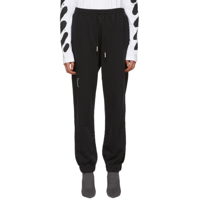 Image of A-Cold-Wall* Black Cotton Track Pants