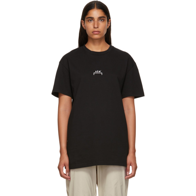 Image of A-Cold-Wall* Black Bracket Logo T-Shirt