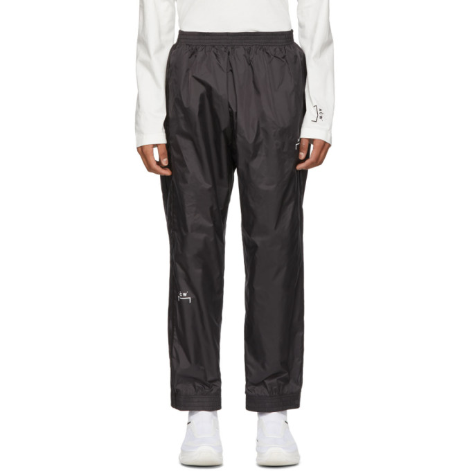 Image of A-Cold-Wall* Black Heavyweight Technical Storm Lounge Pants