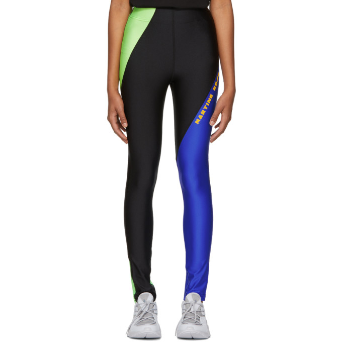 Image of Martine Rose Black Contrast Leggings