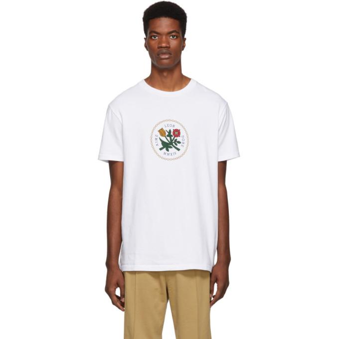 AIMÉ LEON DORE Aime Leon Dore White Graphic T-Shirt