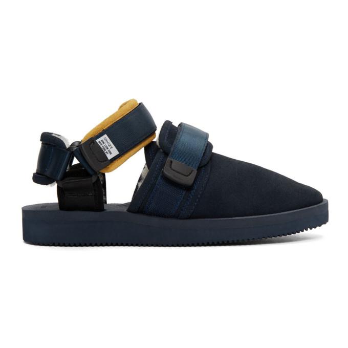 Aime Leon Dore Navy Suicoke Edition Nots M Sandals