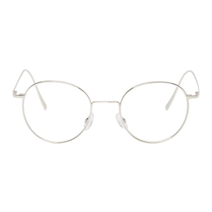 Image of Hed Mayner Silver Vivid Glasses